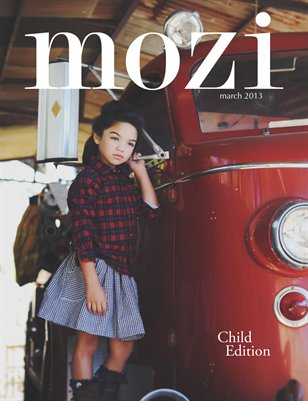 Mozi Magazine, March 2013 - Child Edition