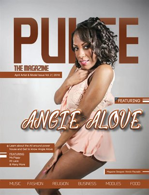 April Pulse The Magazine Artist Model issue Vol. 2