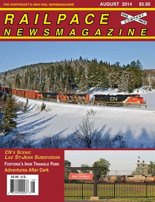 AUGUST 2014 Railpace Newsmagazine