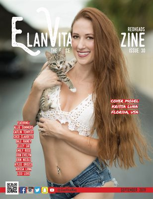 EVM3 September 2019 Krissa Cover