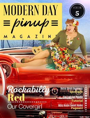Modern Day Pin Up Magazine Volume 5