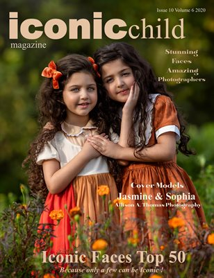 Iconic Child Magazine Issue 10 Volume 6 2020 Iconic Faces Top 50