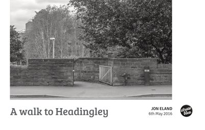 A walk to Headingley