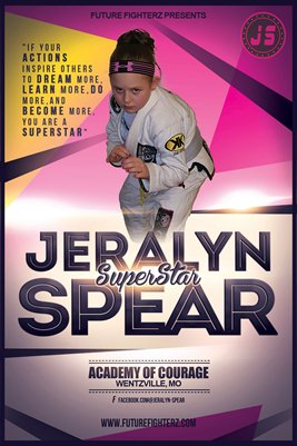 Jeralyn Spear - Superstar Poster
