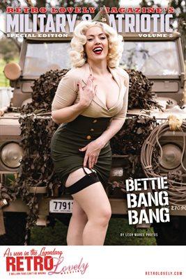 Patriotic & Military 2021 Vol.2 – Bettie Bang Bang Cover Poster