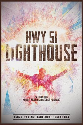 HWY 51 Lighthouse Poster