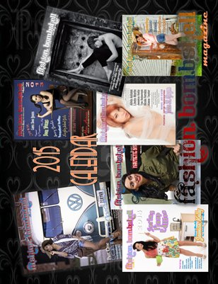 2015 Fashion Bombshell Calendar -1st edition