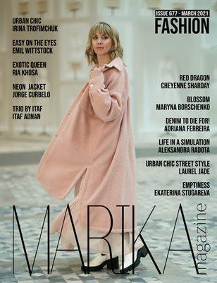 MARIKA MAGAZINE FASHION (ISSUE 677 - MARCH)