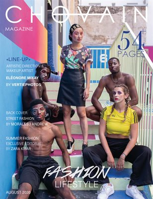 CHOVAIN Magazine - FASHION LIFESTYLE Edition | ISSUE 04 | AUGUST 2020