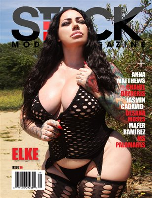 Stack Models Magazine Issue 36 Elke Cover