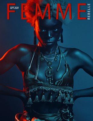 Femme Rebelle Magazine September 2020 - BOOK 2 - NEWO Cover