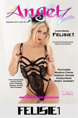 ENCHANTED ANGELZ MAGAZINE COVER POSTER - Cover Model Felisie1 - September 2019