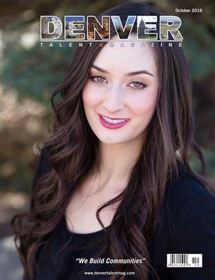 Denver Talent Magazine October 2016 Edition