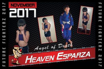 Heaven Esparza Cal Poster 2017