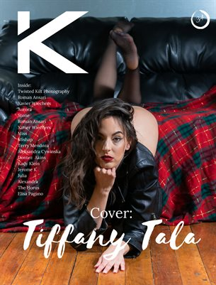 Kansha Magazine Volume 34 Featuring Tiffany Tala