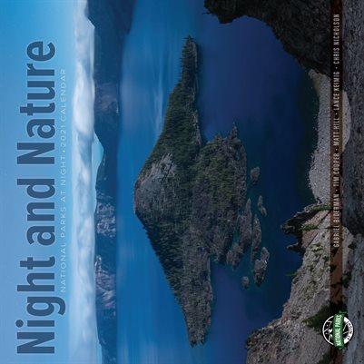 National Parks at Night 2021 Calendar