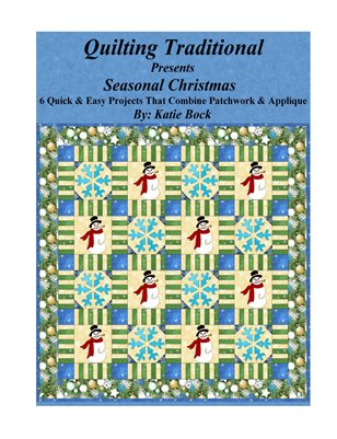 Quilting Traditional Presents Seasonal Christmas