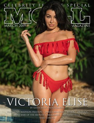 MOLL MAG March 2019 | Celebrity Edition Cover Victoria Elise