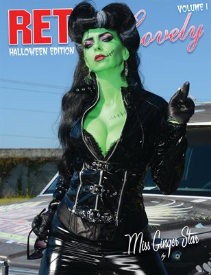Halloween 2018 - VOL 1 - Miss Ginger Star Cover