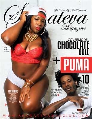 Seewateva Magazine PUMA WHITE ISSUE 3
