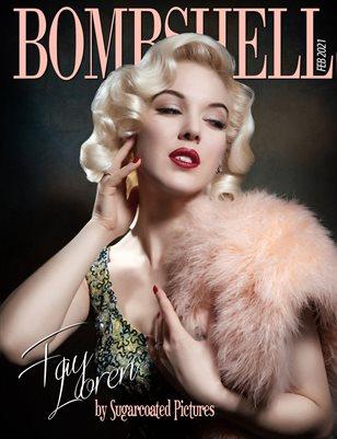 BOMBSHELL Magazine February 2021 - BOOK 1 - Fay Loren Cover