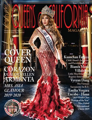 World Class Queens of California Magazine, Issue 2 with Corazon Ugalde Yellen Armenta