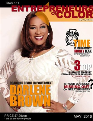 Entrepreneurs of Color Magazine (May 2016)
