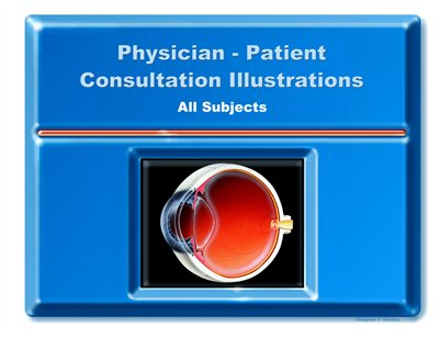 Physician-Patient Consultation Illustrations - All Subjects Portfolio-Deluxe Edition