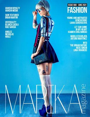 MARIKA MAGAZINE FASHION (ISSUE 980 - JUNE)