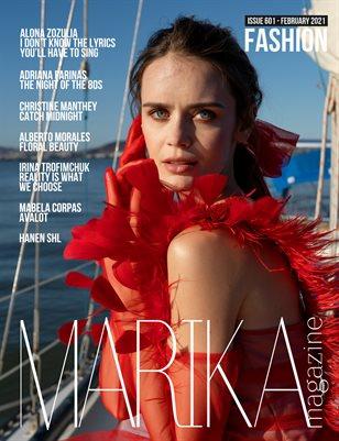 MARIKA MAGAZINE FASHION (ISSUE 601 - February)