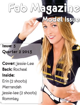 Fab Magazine Model Issue 3
