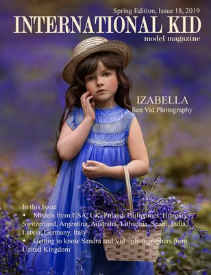 International Kid Model Magazine Spring edition issue #18