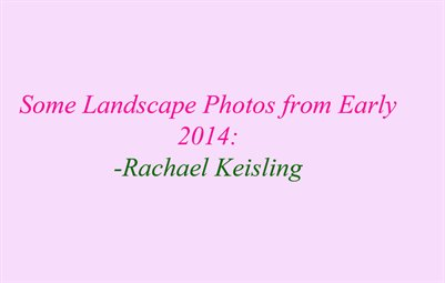 Landscape Photography: