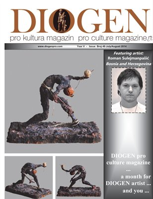 DIOGEN pro art magazine No 49_July / August 2014