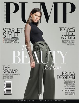PUMP Magazine - The Modern Vogue Beauty Edition Vol.2 - August 2018