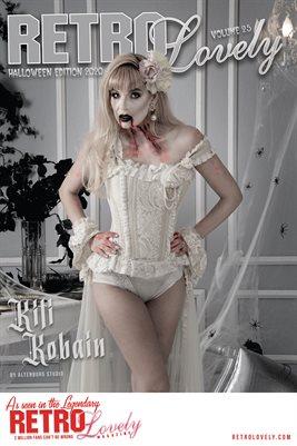 Kiti Kobain Halloween Cover Poster