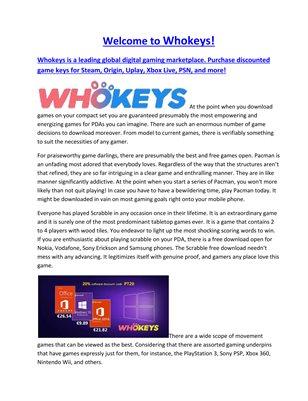 whokeys.com