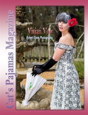 Pinup of the Month Vivian Vow March/April 2015