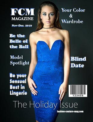 "Fashion Couture Magazine ""Holiday Issue"" Vol.2 No.19"