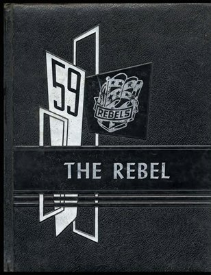 "1959 ""The Rebel"" South Marshall Yearbook"