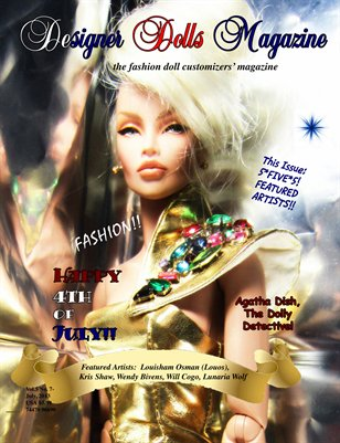 Designer Dolls Magazine - July 2013