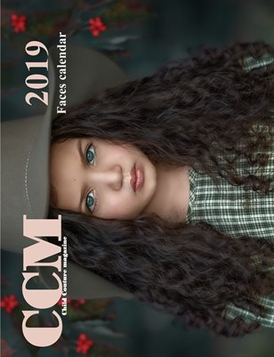 Child Couture magazine 2019 Faces calendar