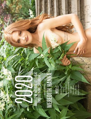 Meredith 2020 Models of Artistic Edge RJC Topless/Nude calendar