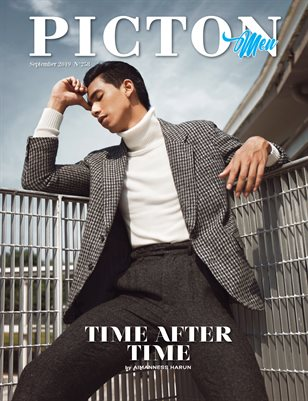 Picton Magazine SEPTEMBER  2019 N258 MEN Cover 3