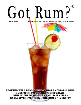 """Got Rum?"" April 2019"