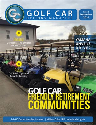Golf Car Options Magazine - September 2016