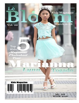 Le Bloom Kids Magazine Marianna Lynn Togado