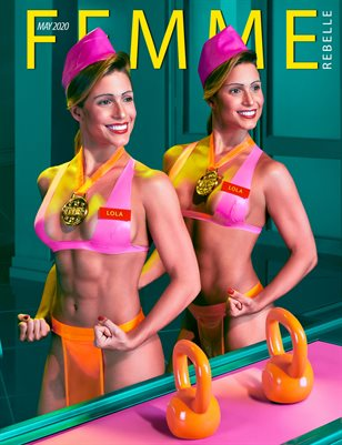 Femme Rebelle Magazine MAY 2020 - BOOK 1 - Pol Kurucz Cover