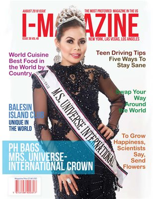 Mrs International Universe Faye Tangonan Feature