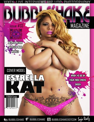 Bubble Shake Magazine issue #33 ( Estrella Kat)